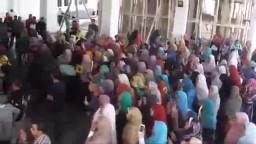 انتفاضة جامعة دمنهور لرفض المحاكمة الهزلية