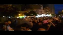 مظاهرة بالأنابيب لثوار الاسكندرية