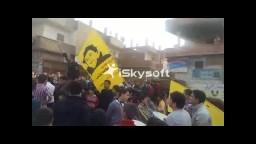وقفه لعفاريت ضد الانقلاب بأويش الحجر