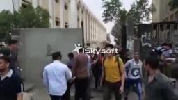 مظاهرات الازهر بشارع المخيم بعد الاعتداء