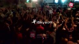 حريـــــة - هتاف حشود الثوار مع الأولتراس