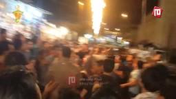 اولتراس يشعل حماس مسيرة العريش