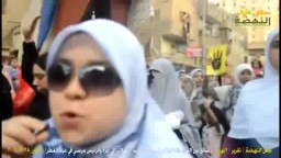 رسائل الثوار في مسيرة عقب صلاة عيد الفطر
