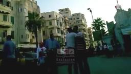 الاسكندرية  الشرطة تضرب المواطنين  بالكراج