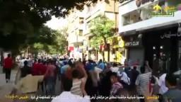 مسيرة شبابية حاشدة من أرض اللواء