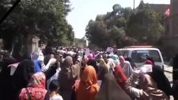 حشود أحرار حلوان -المقاومة أمل الأمة