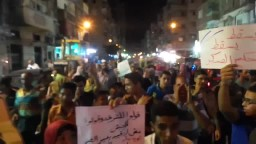 مسيرة وانتصرت غزة بالورديان 27 / 8 / 2014