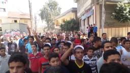 مسيرة شبابية حاشدة بأبوكبير _ الجمعة 5 / 9 / 2014