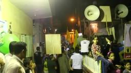 مسيرة عرب جهينة امام منزل الشهيد السنهوتى