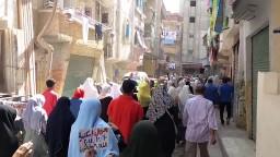 مسيرة ثوار الرمل _ الطلاب فرسان الثورة