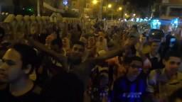 مسيرة حاشدة بالورديان ضد الانقلاب