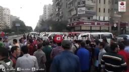 مسيرة مفاجئة لطلاب الأزهر بشوارع مدينة نصر