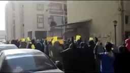 مسيرة صباحية لثوار بورسعيد 12/ 12 / 2014