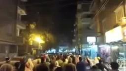 مسيرة حاشدة ببنى سويف تهتف ضد الانقلاب