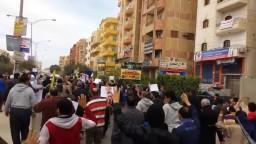6 اكتوبر مسيرة راغب وأعداد غفيرة ضد العسكر