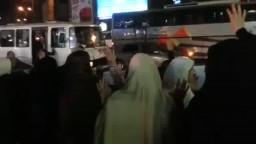 وقفة نساء ضد الانقلاب بشبرا الخيمة 4-3-2015