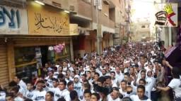 مشاهد ثورية رائعة بكرداسة لرفض بيع مصر