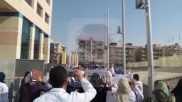 طلاب اكتوبر تنديدا بحكم اعدام سامية شنن