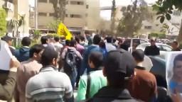 طلاب ضد الانقلاب  جامعة الزقازيق 22/ 3/ 2015