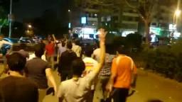 مسيرة بشارع حسن المأمون بمدينة نصر