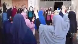 وقفة لحركة نساء بنها ضد الانقلاب 11_5_2015