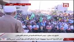 رائد صلاح : أمنيتي أن أصلي خلف الرئيس مرسي