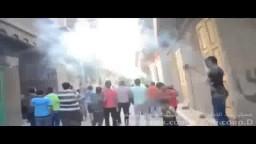الشماريخ تشعل مسيرة شباب الكاشف
