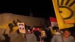 مسيرة ليلية بالقرية الاولى ضد العسكر 9 /6 /2015