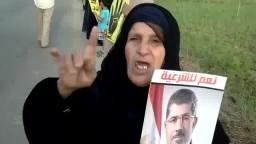 أم مصرية تقوم بالدعاء على قائد الإنقلاب