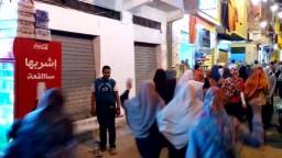 مسيرة بالحضرة الجديدة ضد جرائم الانقلاب