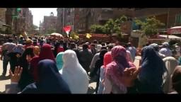مسيرة امبابه -امام مسجد المغفرة -عودوا لثورتكم