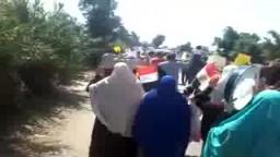 مسيرة بنها - رابعة الأرض لا تشرب الدم