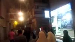مسيرة وسط الاسكندرية مع اقتراب ذكرى الفض