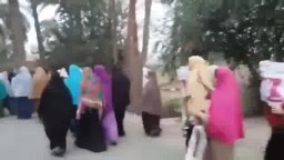 مسيرة نسائية بقرية الضباعنة ببنى سويف