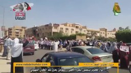 ثوار أكتوبر ينتفضون بمسيرتين لنصرة الأقصى