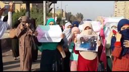 انتفاضة طالبات الازهر  نصرة للانتفاضة