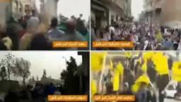 مظاهرات تقتحم شوارع مصر --الثورة جامعه