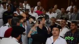 شاهد د. باسم عوده يفاجأ المحكمة!!