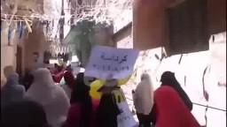 تظاهرات مطالبة برحيل العسكر