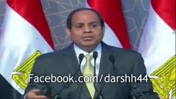 السيسي يهدد المصريين لو عملتوا ثورة !!