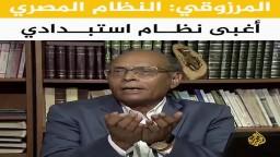 المرزوقي: النظام المصري أغبى نظام استبدادي